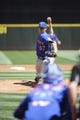 Jul 30, 2017; Seattle, WA, USA; New York Mets starting pitcher Seth Lugo (67) pitches to the Seattle Mariners during the first inning at Safeco Field. Mandatory Credit: Steven Bisig-USA TODAY Sports