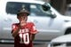 Sep 2, 2017; Norman, OK, USA; Joseph Bertsch of Oklahoma City enjoys pregame activities outside of the venue prior to action between the UTEP Miners and the Oklahoma Sooners at Gaylord Family - Oklahoma Memorial Stadium. Mandatory Credit: Mark D. Smith-USA TODAY Sports