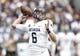 Sep 2, 2017; Evanston, IL, USA; Nevada Wolf Pack quarterback Ty Gangi (6) drops back to pass during the first quarter of the game against the Nevada Wolf Pack at Ryan Field. Mandatory Credit: Caylor Arnold-USA TODAY Spor