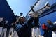 Sep 2, 2017; Colorado Springs, CO, USA; Air Force Falcons band members perform before the game between the Virginia Military Keydets at Falcon Stadium. Mandatory Credit: Ron Chenoy-USA TODAY Sports