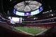 Sep 2, 2017; Atlanta, GA, USA; A general view of Mercedes-Benz Stadium prior to the 2017 Kickoff Game between Alabama Crimson Tide and the Florida State Seminoles. Mandatory Credit: Brett Davis-USA TODAY Sports