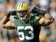 Sep 10, 2017; Green Bay, WI, USA; Green Bay Packers outside linebacker Nick Perry (53) celebrates a first half sack against the Seattle Seahawks in a NFL game at Lambeau Field. Mandatory Credit: William Glasheen/The Post-Crescent via USA TODAY Sports