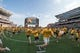 Sep 2, 2017; Waco, TX, USA; The Baylor Bears fans run on to the field before the game between the Baylor Bears and the Liberty Flames at McLane Stadium. The Flames defeat the Bears 48-45. Mandatory Credit: Jerome Miron-USA TODAY Sports
