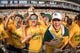 Sep 2, 2017; Waco, TX, USA; The Baylor Bears fans cheer for their team during the game against the Liberty Flames at McLane Stadium. The Flames defeat the Bears 48-45. Mandatory Credit: Jerome Miron-USA TODAY Sports