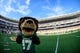 Sep 2, 2017; Waco, TX, USA; A view of the stadium and the Baylor Bears mascot before the game between the Bears and the Liberty Flames at McLane Stadium. The Flames defeat the Bears 48-45. Mandatory Credit: Jerome Miron-USA TODAY Sports