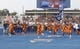 Sep 14, 2017; Boise, ID, USA; The Boise State Broncos take the field prior to the game versus the New Mexcio Lobos at Albertsons Stadium. Mandatory Credit: Brian Losness-USA TODAY Sports