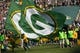 Sep 10, 2017; Green Bay, WI, USA; Pregame festivities prior to  the game between the Seattle Seahawks and Green Bay Packers at Lambeau Field. Mandatory Credit: Jeff Hanisch-USA TODAY Sports