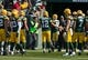 Sep 10, 2017; Green Bay, WI, USA; Green Bay Packers quarterback Aaron Rodgers (12) prior to the game against the Seattle Seahawks at Lambeau Field. Mandatory Credit: Jeff Hanisch-USA TODAY Sports