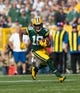 Sep 10, 2017; Green Bay, WI, USA; Green Bay Packers wide receiver Randall Cobb (18) during the game against the Seattle Seahawks at Lambeau Field. Mandatory Credit: Jeff Hanisch-USA TODAY Sports