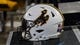 Sep 23, 2017; Laramie, WY, USA; A general view of the Wyoming Cowboys helmet during game against the Hawaii Warriors at War Memorial Stadium. Mandatory Credit: Troy Babbitt-USA TODAY Sports