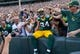 Sep 24, 2017; Green Bay, WI, USA; Green Bay Packers tight end Lance Kendricks (84) during the game against the Cincinnati Bengals at Lambeau Field. Mandatory Credit: Jeff Hanisch-USA TODAY Sports