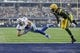 Oct 8, 2017; Arlington, TX, USA; Dallas Cowboys wide receiver Cole Beasley (11) scores a touchdown against Green Bay Packers cornerback Davon House (31) in the first quarter at AT&T Stadium. Mandatory Credit: Tim Heitman-USA TODAY Sports