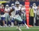 Oct 8, 2017; Arlington, TX, USA; Dallas Cowboys receiver Brice Butler (19) runs with the ball after a reception against the Green Bay Packers at AT&T Stadium. Mandatory Credit: Matthew Emmons-USA TODAY Sports