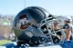 Oct 14, 2017; Colorado Springs, CO, USA; A general view of an Air Force Falcons helmet before the game against the UNLV Rebels at Falcon Stadium. Mandatory Credit: Isaiah J. Downing-USA TODAY Sports