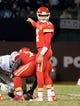 Oct 19, 2017; Oakland, CA, USA; Kansas City Chiefs quarterback Alex Smith (11) gestures to teammates before a snap against the Oakland Raiders during the third quarter at Oakland Coliseum. Mandatory Credit: Kelley L Cox-USA TODAY Sports