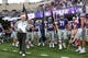 Oct 21, 2017; Manhattan, KS, USA; Kansas State Wildcats head coach Bill Snyder waits to lead the team onto the field before the start of a game Oklahoma Sooners at Bill Snyder Family Stadium. The Sooners won the game 42-35. Mandatory Credit: Scott Sewell-USA TODAY Sports