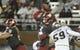 Oct 21, 2017; Pullman, WA, USA; Washington State Cougars quarterback Luke Falk (4) throws a pass against the Colorado Buffaloes during the first half at Martin Stadium. Mandatory Credit: James Snook-USA TODAY Sports