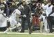 Oct 21, 2017; Pullman, WA, USA; Washington State Cougars wide receiver Davontavean Martin (1) runs by Colorado Buffaloes linebacker Drew Lewis (20) during the first half at Martin Stadium. Mandatory Credit: James Snook-USA TODAY Sports