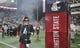 Oct 21, 2017; Pullman, WA, USA; Washington State Cougars quarterback Luke Falk (4) runs out onto the field before a game against the Colorado Buffaloes at Martin Stadium. Mandatory Credit: James Snook-USA TODAY Sports
