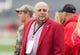 Oct 14, 2017; Madison, WI, USA; Wisconsin Badgers athletic director Barry Alvarez during warmups prior to the game against the Purdue Boilermakers at Camp Randall Stadium. Mandatory Credit: Jeff Hanisch-USA TODAY Sports