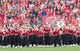 Oct 14, 2017; Madison, WI, USA; The Wisconsin marching band performs prior to the game against the Purdue Boilermakers at Camp Randall Stadium. Mandatory Credit: Jeff Hanisch-USA TODAY Sports