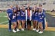 Nov 4, 2017; Columbia, MO, USA; Several Florida Gators cheerleaders pose for a photo before the game against the Missouri Tigers at Faurot Field. Mandatory Credit: Denny Medley-USA TODAY Sports