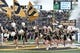 Nov 4, 2017; Columbia, MO, USA; The Missouri Tigers cheerleaders run onto the field before the game against the Florida Gators at Faurot Field. Mandatory Credit: Denny Medley-USA TODAY Sports