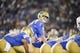 Nov 11, 2017; Pasadena, CA, USA; UCLA Bruins quarterback Josh Rosen (3) looks from the line during the first half against the Arizona State Sun Devils at Rose Bowl. Mandatory Credit: Kelvin Kuo-USA TODAY Sports