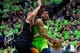 iDec 16, 2017; Minneapolis, MN, USA; Minnesota Timberwolves center Karl-Anthony Towns (32) drives in the second quarter against the Phoenix Suns center Alex Len (21) at Target Center. Mandatory Credit: Brad Rempel-USA TODAY Sports
