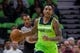 Dec 16, 2017; Minneapolis, MN, USA; Minnesota Timberwolves guard Jeff Teague (0) dribbles in the first quarter against the Phoenix Suns at Target Center. Mandatory Credit: Brad Rempel-USA TODAY Sports
