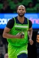Dec 16, 2017; Minneapolis, MN, USA; Minnesota Timberwolves forward Taj Gibson (67) in the third quarter against the Phoenix Suns at Target Center. Mandatory Credit: Brad Rempel-USA TODAY Sports