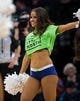 Dec 16, 2017; Minneapolis, MN, USA; Minnesota Timberwolves dancers perform in the fourth quarter in  a game between the Minnesota Timberwolves and Phoenix Suns at Target Center. Mandatory Credit: Brad Rempel-USA TODAY Sports