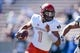 Oct 14, 2017; Colorado Springs, CO, USA; UNLV Rebels quarterback Armani Rogers (1) runs the ball in the first quarter against the Air Force Falcons at Falcon Stadium. Mandatory Credit: Isaiah J. Downing-USA TODAY Sports