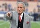 Jan 6, 2018; Los Angeles, CA, USA; Atlanta Falcons owner Arthur Blank reacts during the NFC Wild Card playoff football game against the Los Angeles Rams at Los Angeles Memorial Coliseum. Mandatory Credit: Kirby Lee-USA TODAY Sports