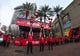 Jan 20, 2018; Houston, TX, USA; Houston Rockets Launch Crew performs outside of Toyota Center before a game against the Golden State Warriors. Mandatory Credit: Troy Taormina-USA TODAY Sports