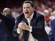 Jan 27, 2018; Tucson, AZ, USA; Arizona Wildcats head coach Sean Miller calls a play during the second half against the Utah Utes at McKale Center. Mandatory Credit: Casey Sapio-USA TODAY Sports