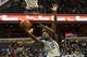 Feb 10, 2018; Washington, DC, USA;  Georgetown Hoyas guard Jonathan Mulmore (2) shoots as Seton Hall Pirates guard Khadeen Carrington (0) defends during the second half at Capital One Arena. Mandatory Credit: Tommy Gilligan-USA TODAY Sports