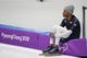 Feb 13, 2018; Pyeongchang, South Korea; Shani Davis (USA) prepares to compete in mens 1500m speed skating during the Pyeongchang 2018 Olympic Winter Games at Gangneung Ice Arena. Mandatory Credit: Dan Powers-USA TODAY Sports