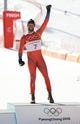 Feb 15, 2018; Pyeongchang, South Korea; Aksel Lund Svindal (NOR) on the podium at the venue victory ceremony after the men's alpine skiing downhill race during the Pyeongchang 2018 Winter Olympic Games at Jeongseon Alpine Centre. Mandatory Credit: Jeffrey Swinger-USA TODAY Sports