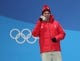 Feb 15, 2018; Pyeongchang, South Korea; Bronzemedalist Beat Feuz (SUI) during the medals ceremony for the men's alpine skiing downhill race in the Pyeongchang 2018 Olympic Winter Games at Medals Plaza. Mandatory Credit: Geoff Burke-USA TODAY Sports
