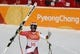 Feb 16, 2018; Pyeongchang, South Korea; Beat Feuz (SUI) reacts in the finish area for the men's alpine skiing super G during the Pyeongchang 2018 Olympic Winter Games at Jeongseon Alpine Centre. Mandatory Credit: Jeff Swinger-USA TODAY Sports