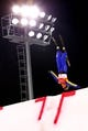 Feb 16, 2018; Pyeongchang, South Korea; Mengtao Xu (CHN) in the women's freestyle ski aerials finals during the Pyeongchang 2018 Olympic Winter Games at Phoenix Snow Park. Mandatory Credit: Guy Rhodes-USA TODAY Sports