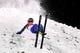 Feb 16, 2018; Pyeongchang, South Korea; Mengtao Xu (CHN) crashes in the women's freestyle ski aerials finals during the Pyeongchang 2018 Olympic Winter Games at Phoenix Snow Park. Mandatory Credit: Kyle Terada-USA TODAY Sports