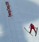 Feb 18, 2018; Pyeongchang, KOR; Eric Frenzel (GER)  jumps in the nordic combined individual gundersen large hill 10km training session during the Pyeongchang 2018 Olympic Winter Games at Alpensia Ski Jumping Centre. Mandatory Credit: Rob Schumacher-USA TODAY Sports