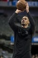 Mar 11, 2018; Dallas, TX, USA; Houston Rockets guard Gerald Green (14) warms up before the game between the Dallas Mavericks and the Rockets at the American Airlines Center. Mandatory Credit: Jerome Miron-USA TODAY Sports