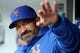 Apr 15, 2018; New York City, NY, USA; New York Mets manager Mickey Callaway waves to fans before a game against the Milwaukee Brewers at Citi Field. Mandatory Credit: Brad Penner-USA TODAY Sports