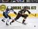 May 16, 2018; Las Vegas, NV, USA; Vegas Golden Knights center Jonathan Marchessault (81) skates with the puck ahead of Winnipeg Jets center Andrew Copp (9) during the first period of game three of the Western Conference Final of the 2018 Stanley Cup Playoffs at T-Mobile Arena. Mandatory Credit: Stephen R. Sylvanie-USA TODAY Sports