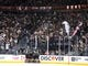 May 16, 2018; Las Vegas, NV, USA; Vegas Golden Knights fans celebrate a second period goal scored by Vegas Golden Knights left wing James Neal (18) against the Winnipeg Jets in game three of the Western Conference Final of the 2018 Stanley Cup Playoffs at T-Mobile Arena. Mandatory Credit: Stephen R. Sylvanie-USA TODAY Sports