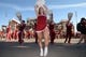 Sep 1, 2018; Norman, OK, USA; Members of the Oklahoma Sooners spirit squads perform for fans outside of the venue prior to action against the Florida Atlantic Owls at Gaylord Family - Oklahoma Memorial Stadium. Mandatory Credit: Mark D. Smith-USA TODAY Sports