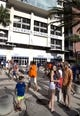 Sep 1, 2018; Gainesville, FL, USA; Fans mill about outside the stadium before the Florida Gators host the Charleston Southern Buccaneers at Ben Hill Griffin Stadium. Mandatory Credit: Glenn Beil-USA TODAY Sports